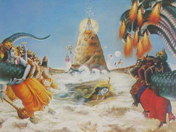 Birth of Shri Dhanvantari